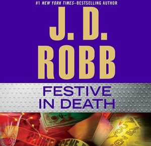 Festive In Death Book Cover